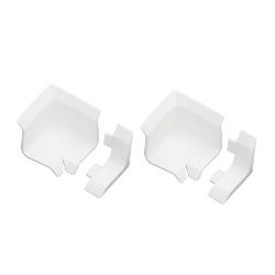 Bath Seal Corners and Ends White
