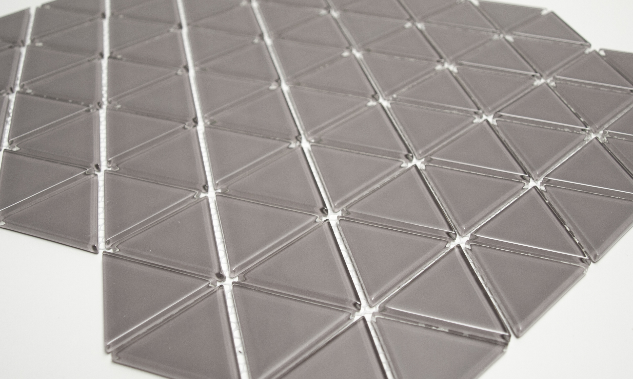 Ecru Glass Mosaic