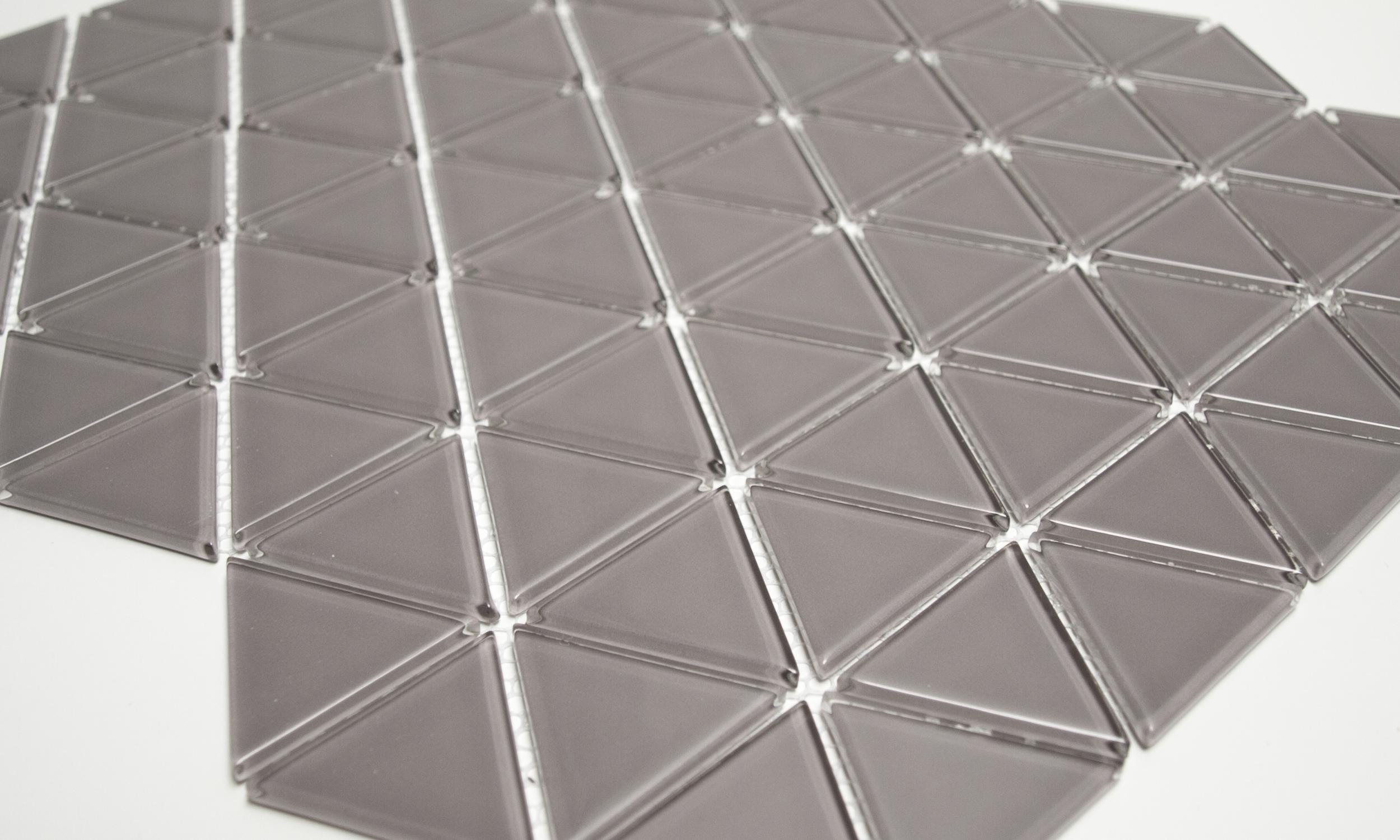 Ecru Glass Mosaic