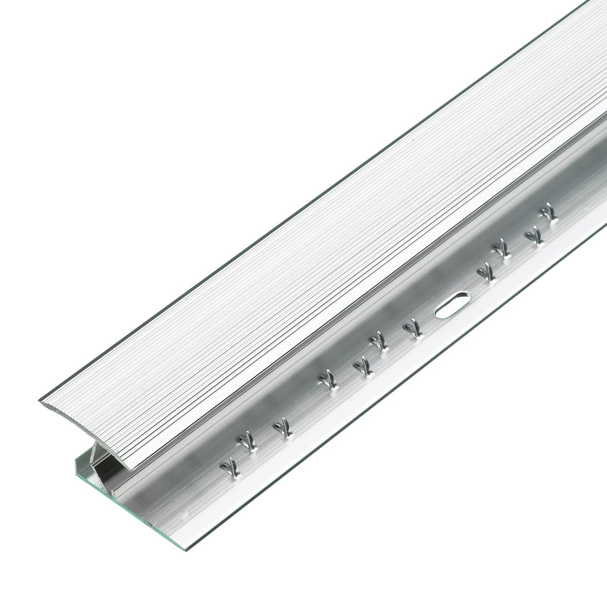Silver Effect Gripstrip 0.91m