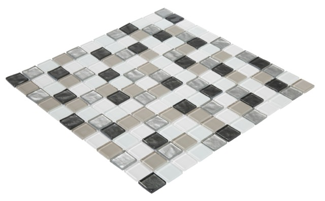 Vapour 2Pk Glass Mosaic