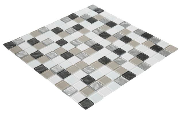 Vapour 2Pk Glass Mosaic