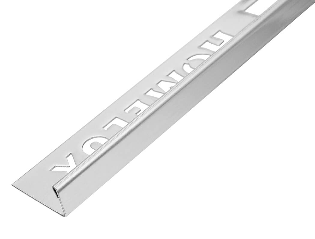 12.5mm Polished Silver Stainless Steel Straight Edge Trim 2.5m