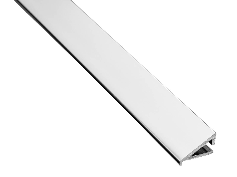 10mm Silver After Fit Tile Trim 1.83m